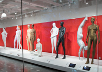 Mannequins Artfully Adorn Gallery 360